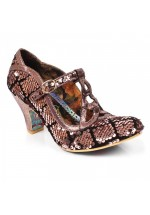 Irregular Choice Nicely Done (Gold/Black)
